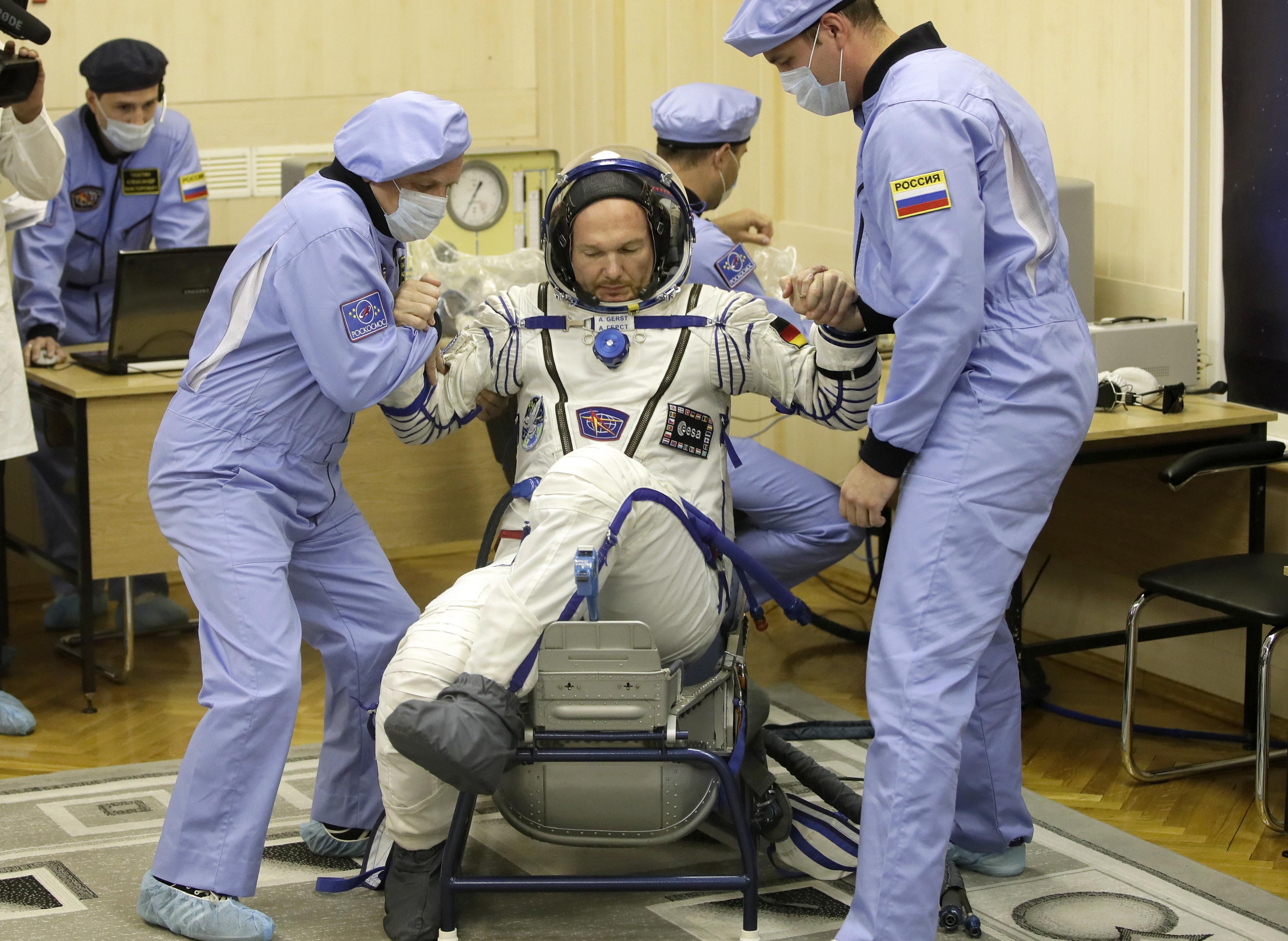 Alexander Gerst: Ein Astronauten-Ritual vor dem Start ist besonders
