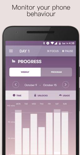 4 applications pour couper avec...son téléphone et les réseaux