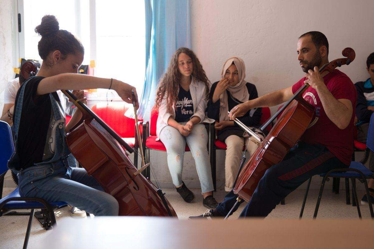Une vie collégiale subtilement imprégnée de musique, c'est le projet de Future Lab