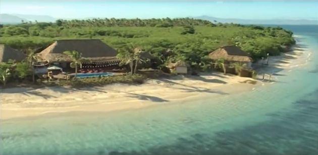 The original location of Celebrity Love Island inArmstrong Island,