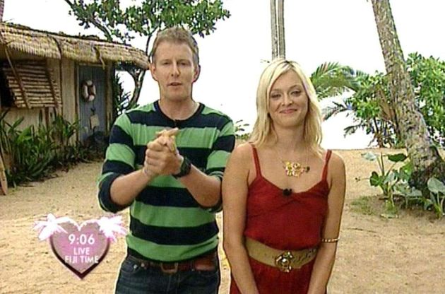 Patrick Kielty and Fearne Cotton presented series