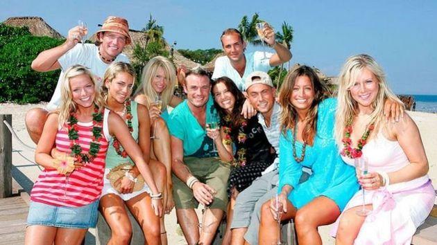 The series one 'Celebrity Love Island'