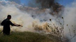 Υπό μερικό έλεγχο η φωτιά κοντά στη Μονή Χιλανδαρίου στο Άγιο