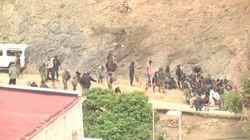 400 Menschen versuchen Grenzzaun zu Spanien zu