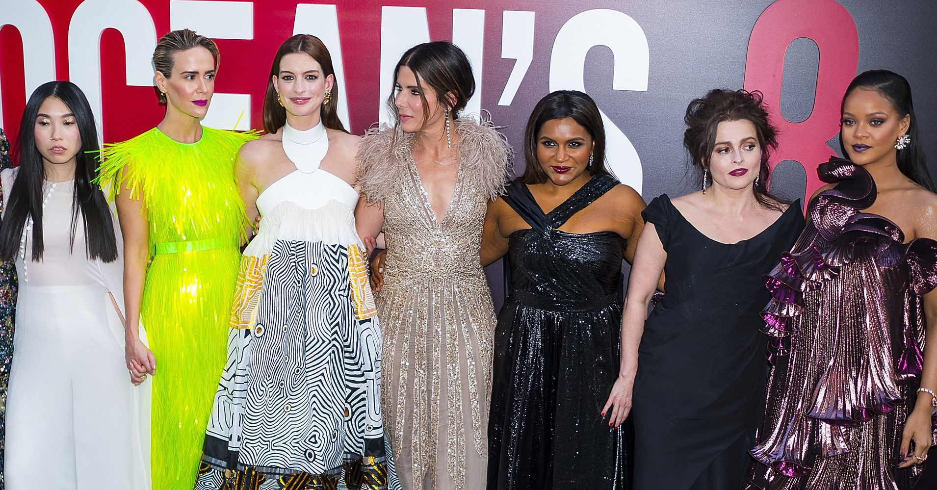 Ocean S 8 Cast Shuts Down The Red Carpet At Premiere
