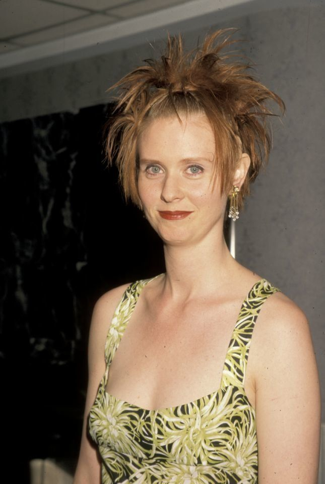 Cynthia Nixon was #90shairgoals at the Sex and the City premiere.