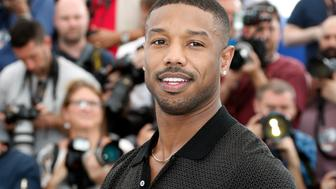 "71st Cannes Film Festival - Photocall for the film ""Fahrenheit 451"" presented as part of midnight screenings - Cannes, France May 12, 2018. Cast member Michael B. Jordan poses. REUTERS/Eric Gaillard"