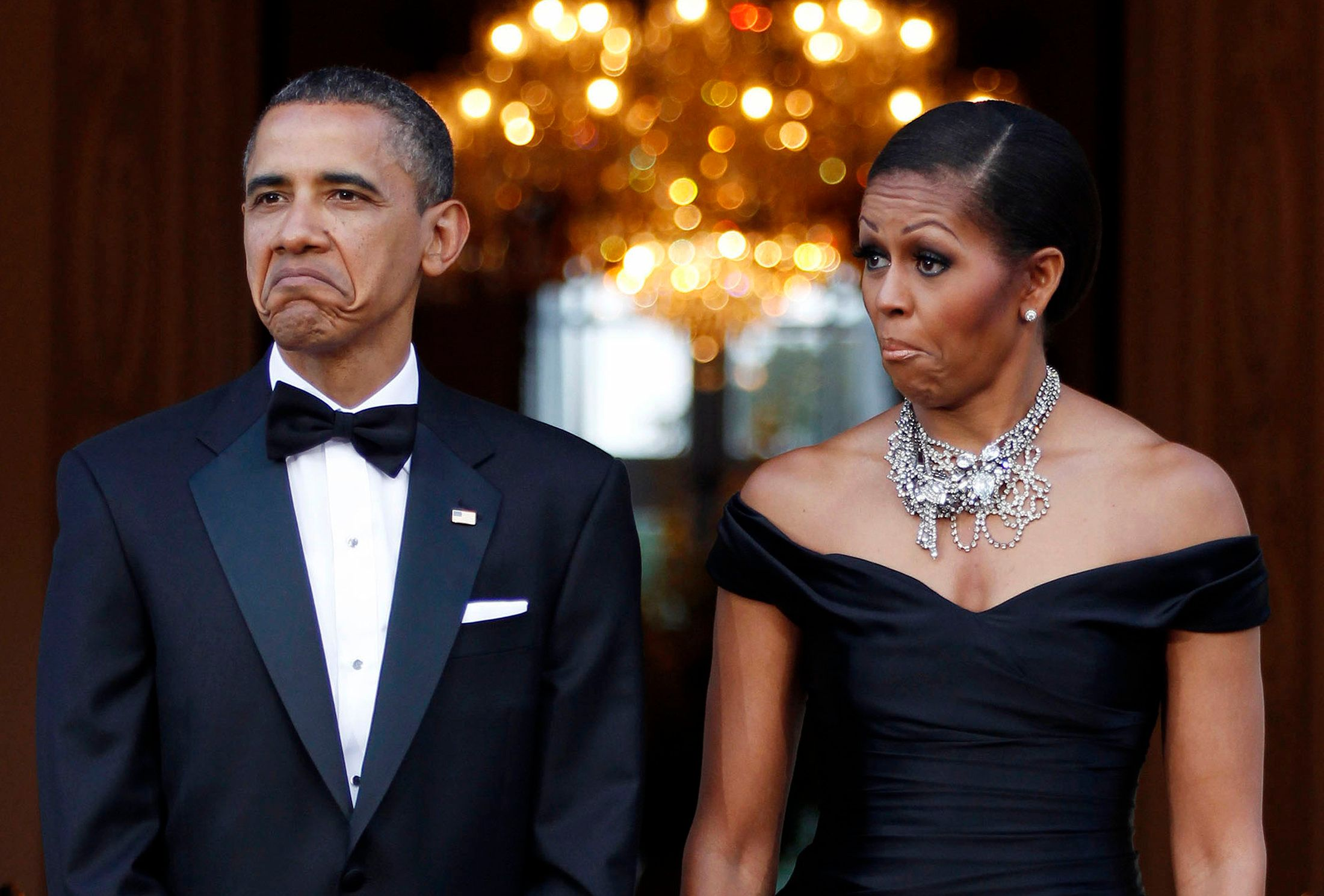 Probably what Obama's face looked like when he heard about the
