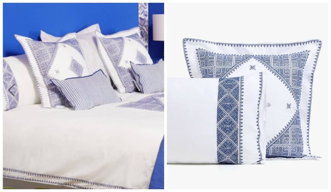 Quand Zara propose des parures de lit en Terz fassi
