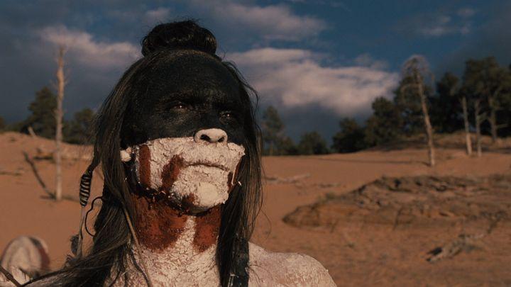 """Zahn McClarnon asAkecheta in """"Westworld."""""""