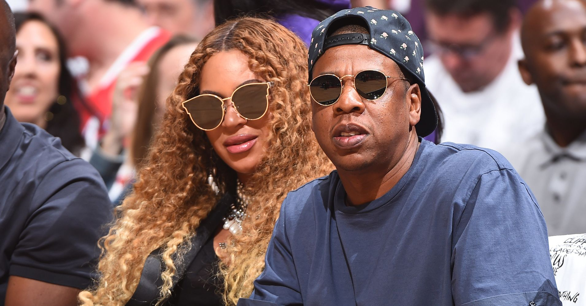 Beyoncé And Jay-Z Show Off Twins Rumi And Sir During 'On The Run II' Tour
