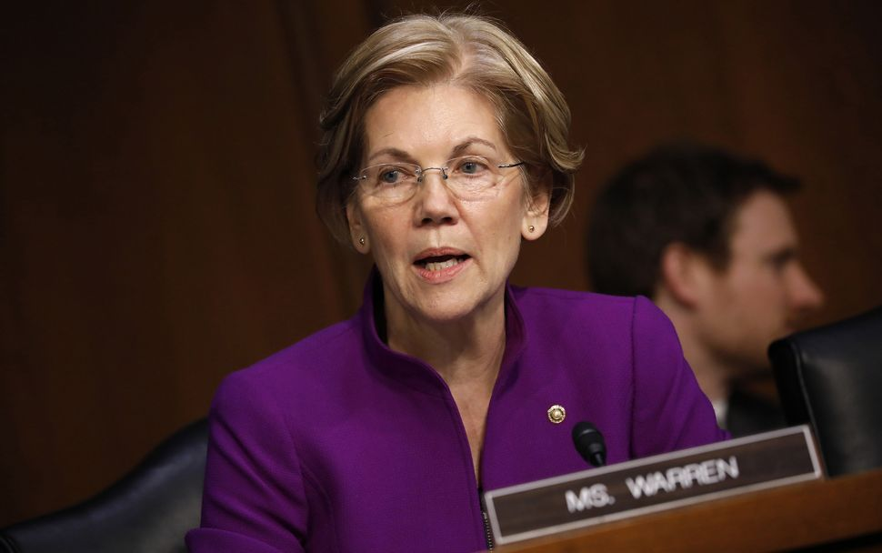 Warren angered many of her colleagues by criticizing them by name in a fundraising email.