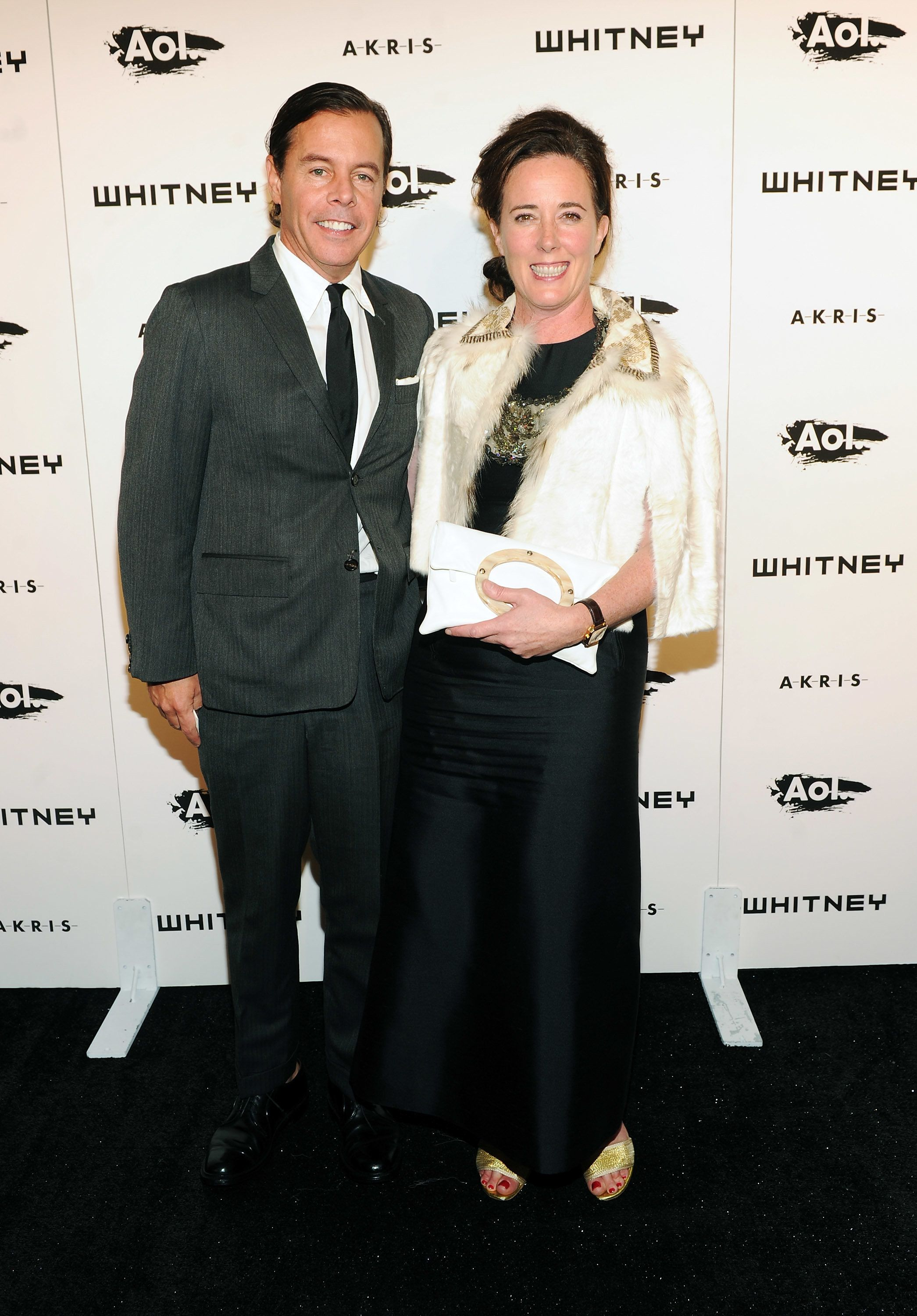NEW YORK - OCTOBER 26:  Designers Andy Spade and Kate Spade attend the 2010 Whitney Gala and Studio Party at The Whitney Museum of American Art on October 26, 2010 in New York City.  (Photo by Stephen Lovekin/Getty Images)