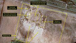 북한이 탄도미사일 시험장도 파괴한