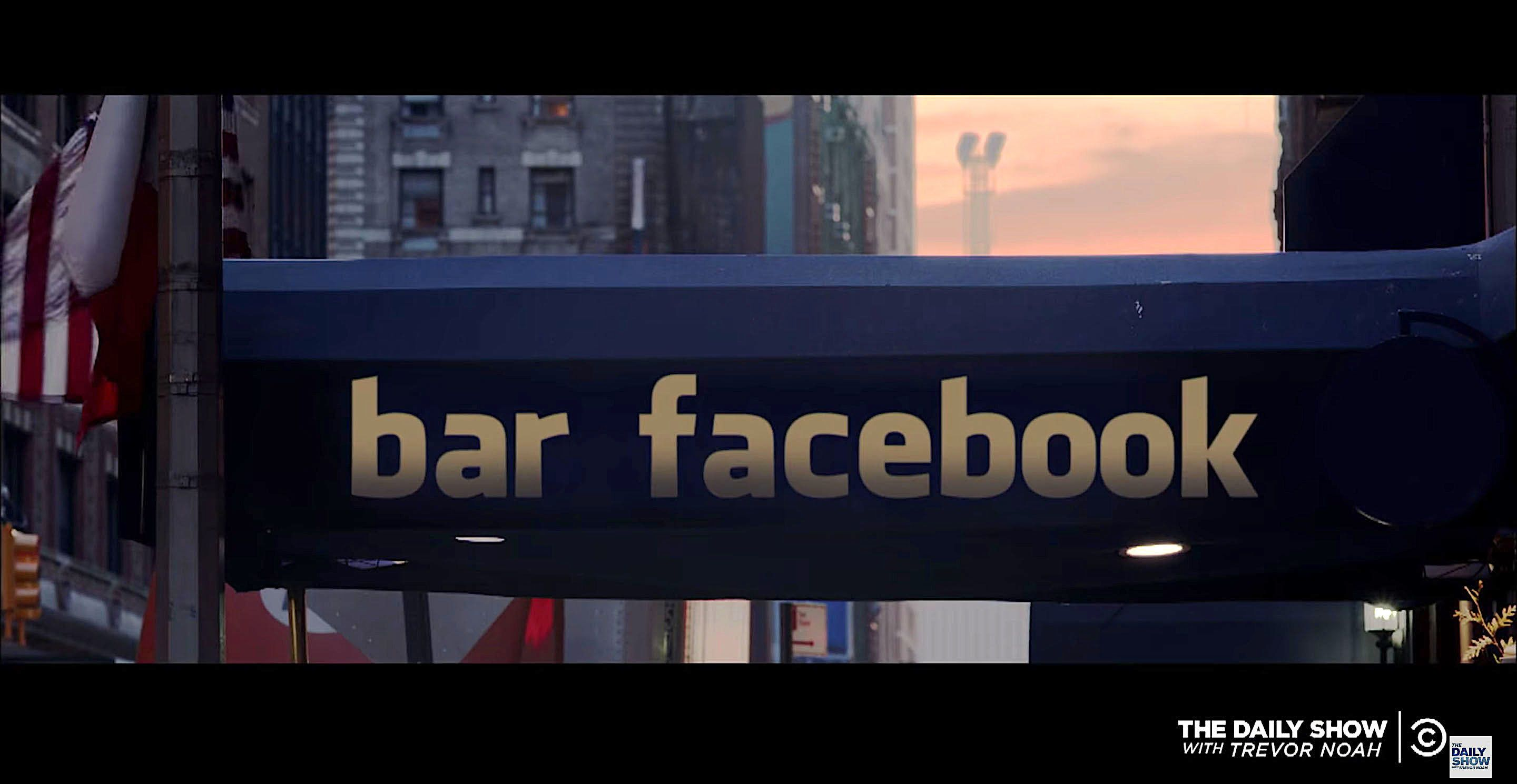 What if Facebook were a physical place