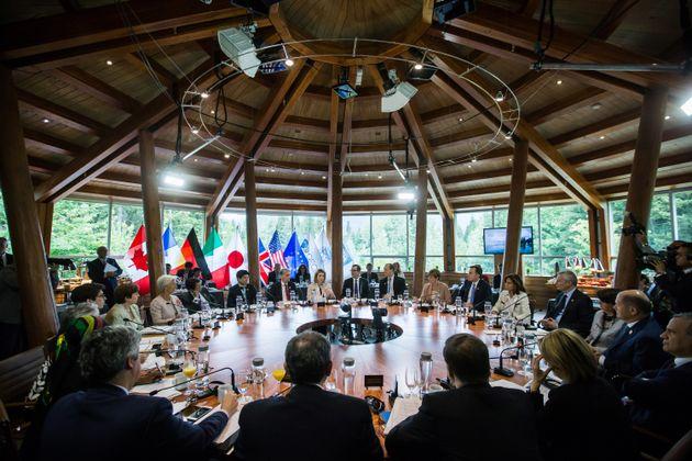 Die G7-Finanzminister hatten sich bereits am Montag