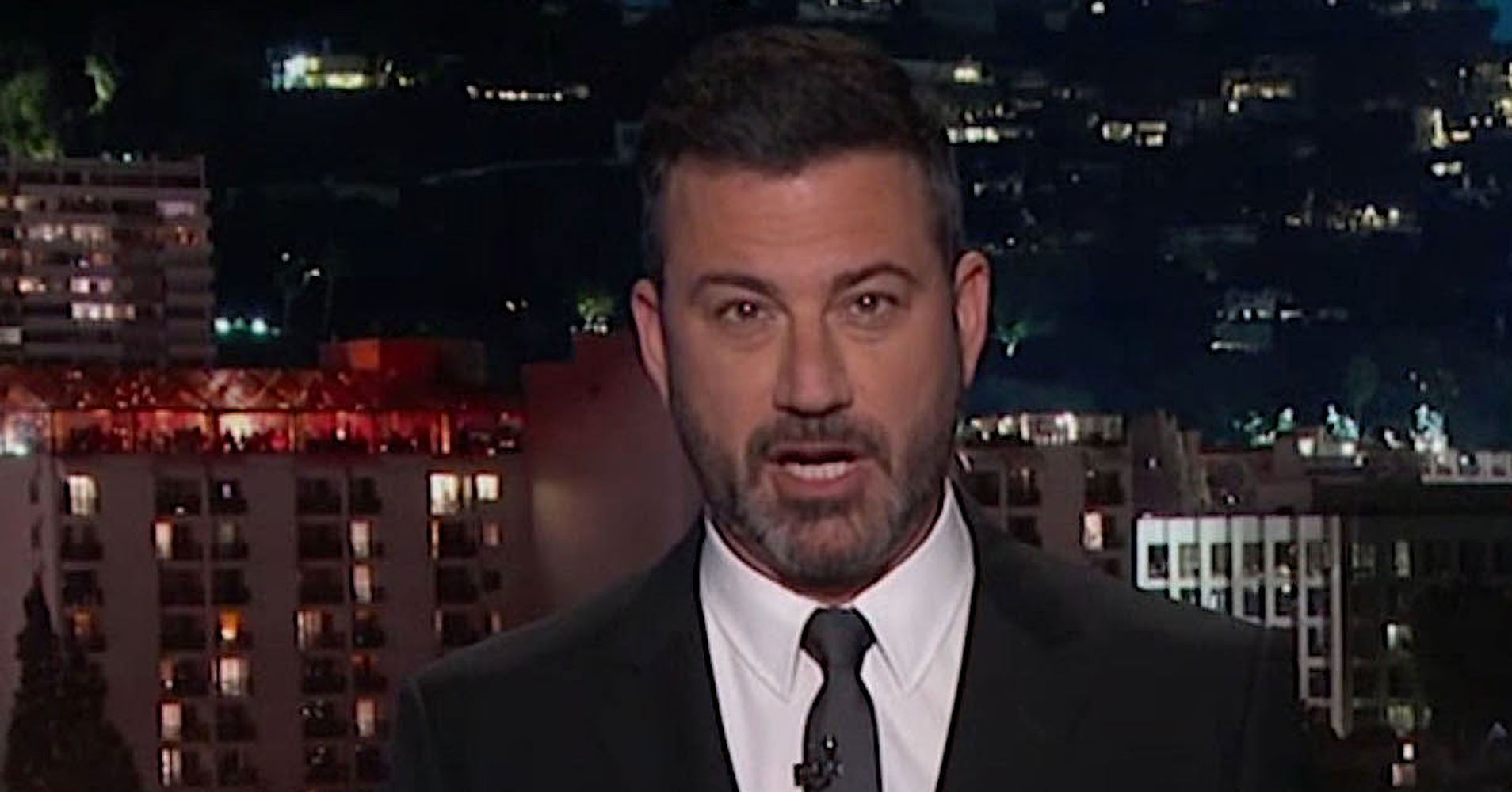 Jimmy Kimmel Finds First Lady To Be A Little Stiff