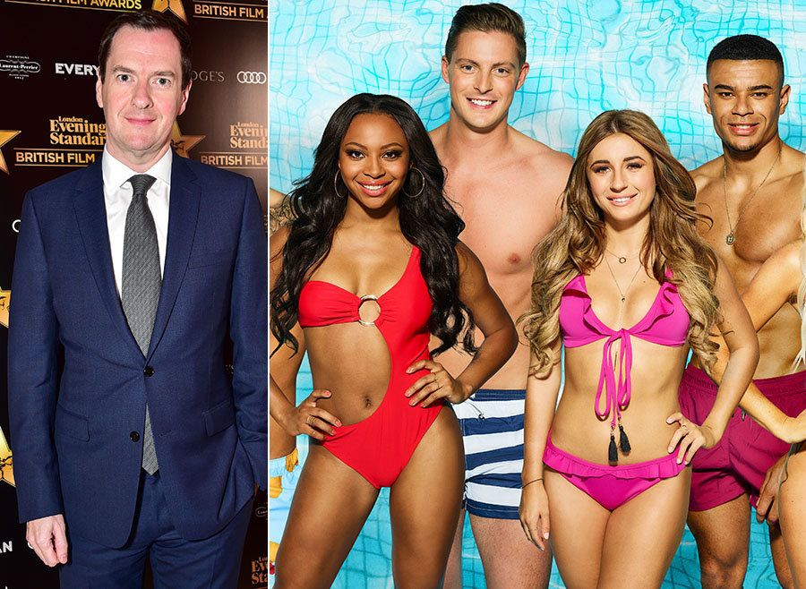 George Osborne (Yes, That George Osborne) Outs Himself As A 'Love Island' Fan