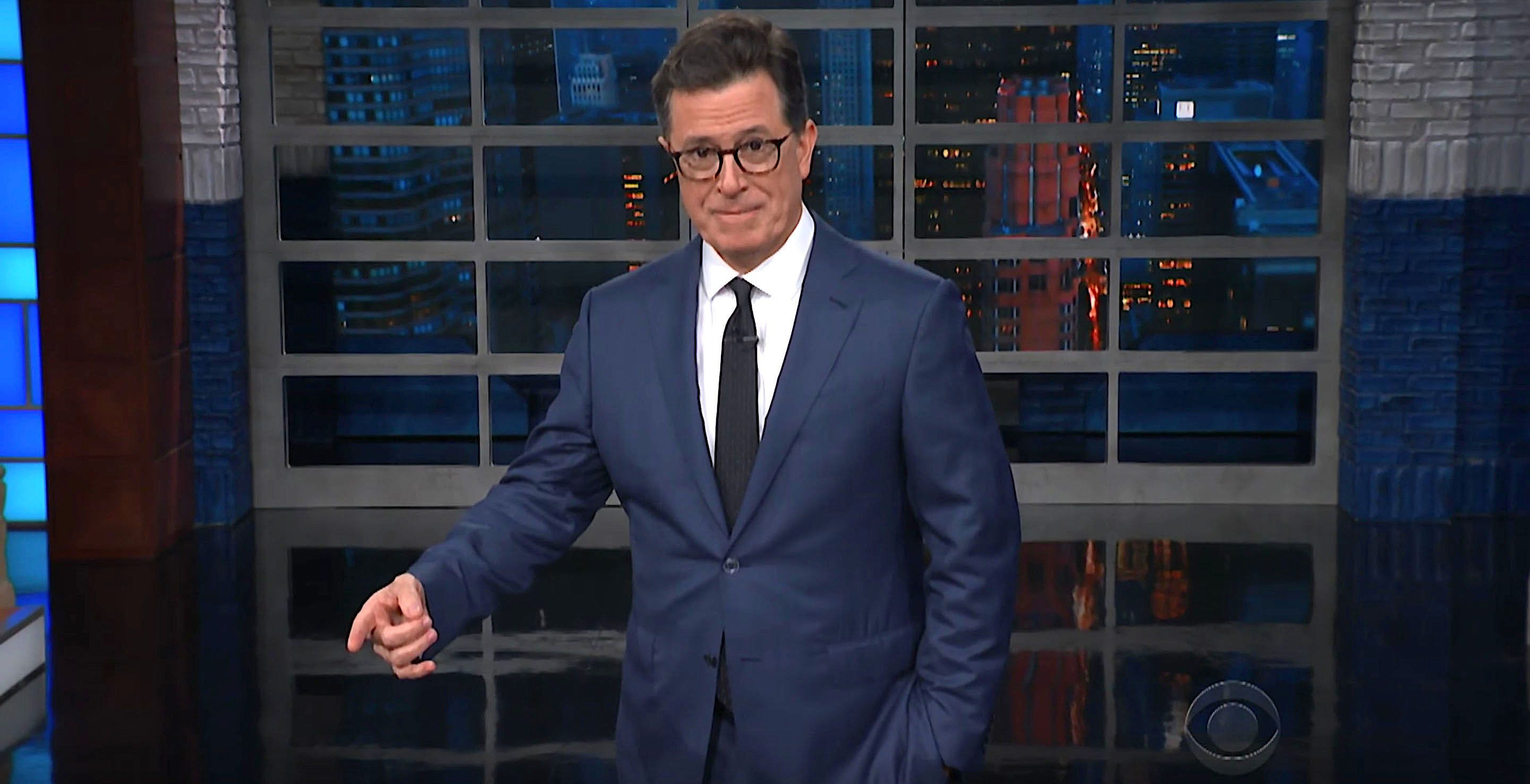 Stephen Colbert had some things to say about Kellyanne Conways comments Wednesday