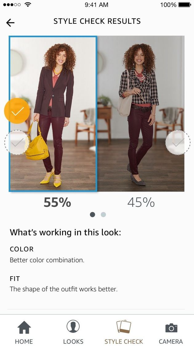 Amazon's Echo Look Uses AI To Judge If Your Outfit Is Good Or