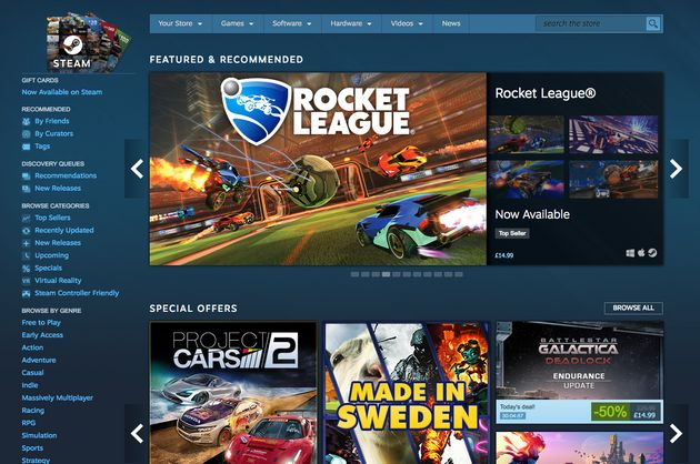 Steam Game Store Says It Will 'Allow Everything', No Matter How