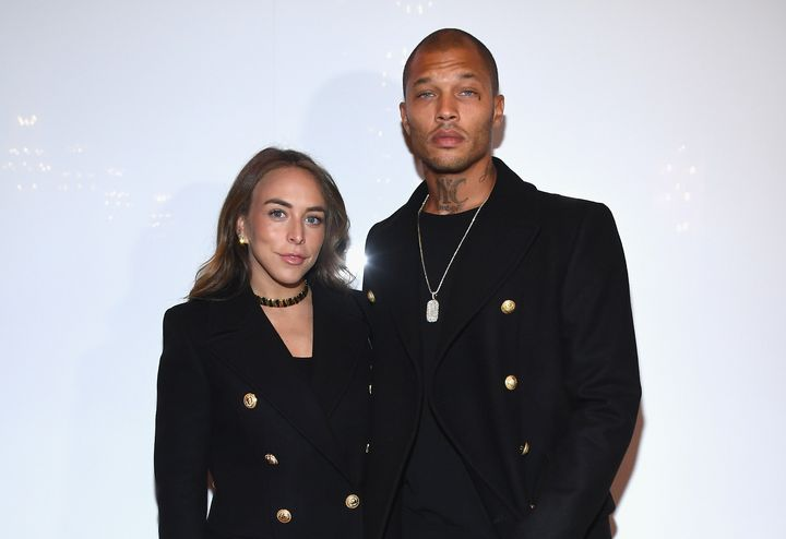 Chloe Green and Jeremy Meeksare new parents.