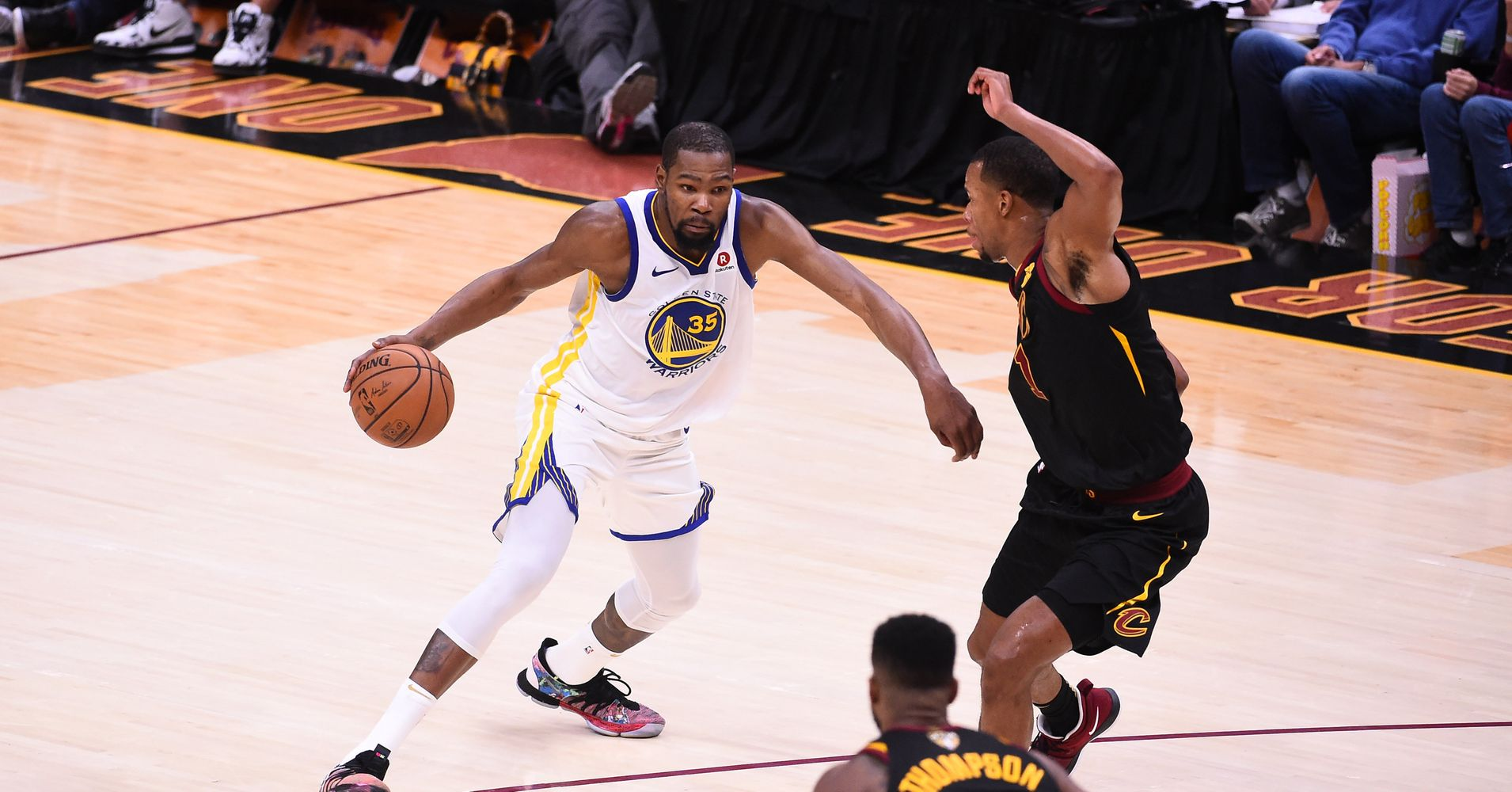 2d4120daf04f Kevin Durant s Game 3 In NBA Finals Impresses The Heck Out Of Fellow  Players