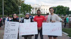 Iftar à la Maison-Blanche: Des musulmans américains ont manifesté pour dénoncer l'hypocrisie de
