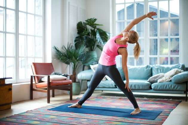 Three Moves To Work Your Upper Arms, For When You've Got A Few Minutes To