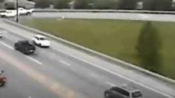 Απίστευτο βίντεο: Οδηγός - χάρος πάει με όπισθεν σε κεντρική λεωφόρο στο