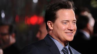 HOLLYWOOD - JANUARY 19:  Actor Brendan Fraser arrives at the premiere Of CBS Films' 'Extraordinary Measures'  held at the Grauman's Chinese Theatre on January 19, 2010 in Hollywood, California.  (Photo by Frazer Harrison/Getty Images)