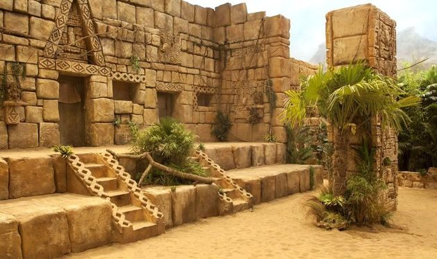 The Aztec Zone has over 18 tonnes of real