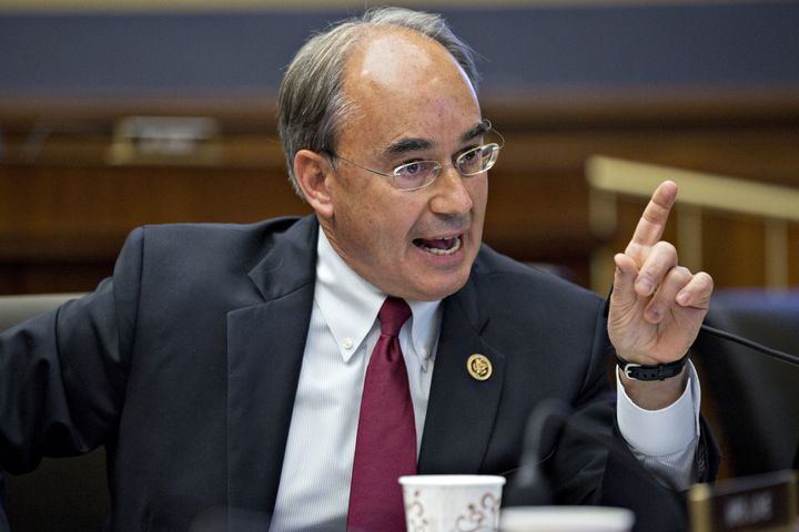Democrats think the votes of Rep. Bruce Poliquin (R-Maine) to repeal Obamacare will hurt him in November.