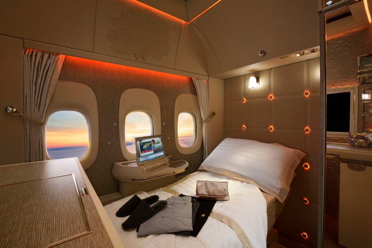 Emirates Airlines Unveils A Future Of Windowless