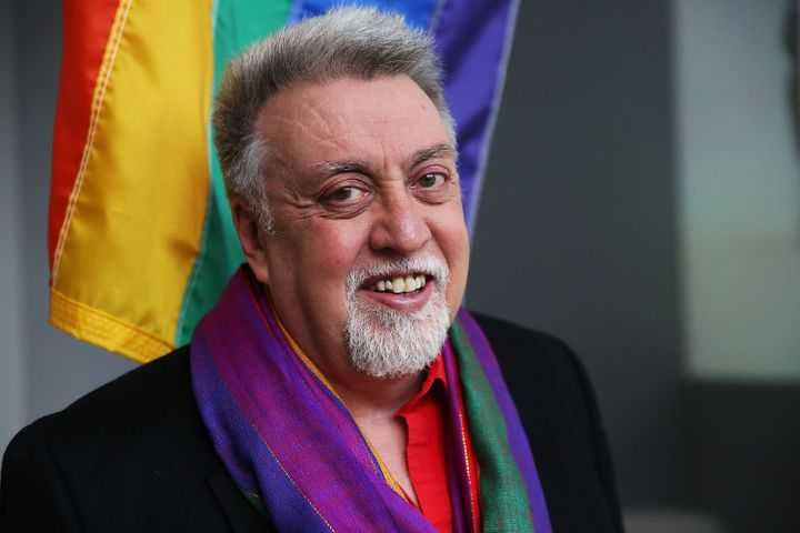 """""""I thought a gay nation should have a flag too, to proclaim its own idea of power,"""" Gilbert Baker, who died in 2017, wrote."""