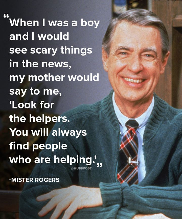 Why Mister Rogers' Plea To 'Look For The Helpers' Still Resonates ...