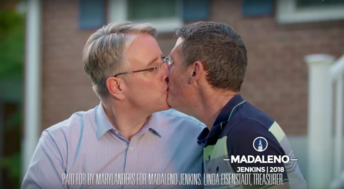 Kissing friend of same sex
