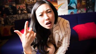 NEW YORK, NY - JUNE 4:  Actresss Nora Lum otherwise known as Awkwafina poses for photos in New York on June 4, 2018. (Photo by Damon Dahlen/HuffPost) *** Local Caption ***