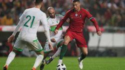 Football: l'Algérie corrigée par le Portugal (3-0) à