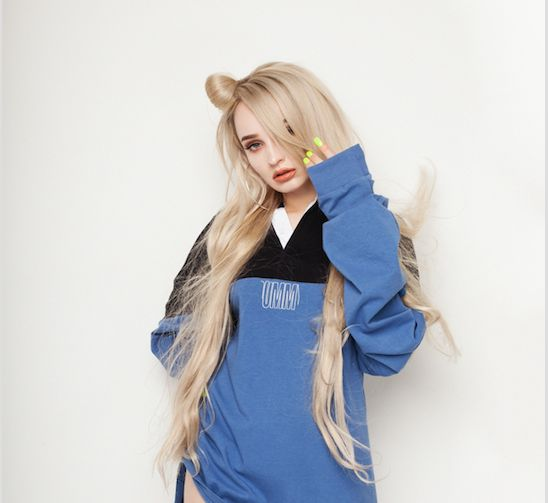 "Kim Petras, who is transgender, said she wants to ""send a message to all trans kids that you're not alone"" by living as"