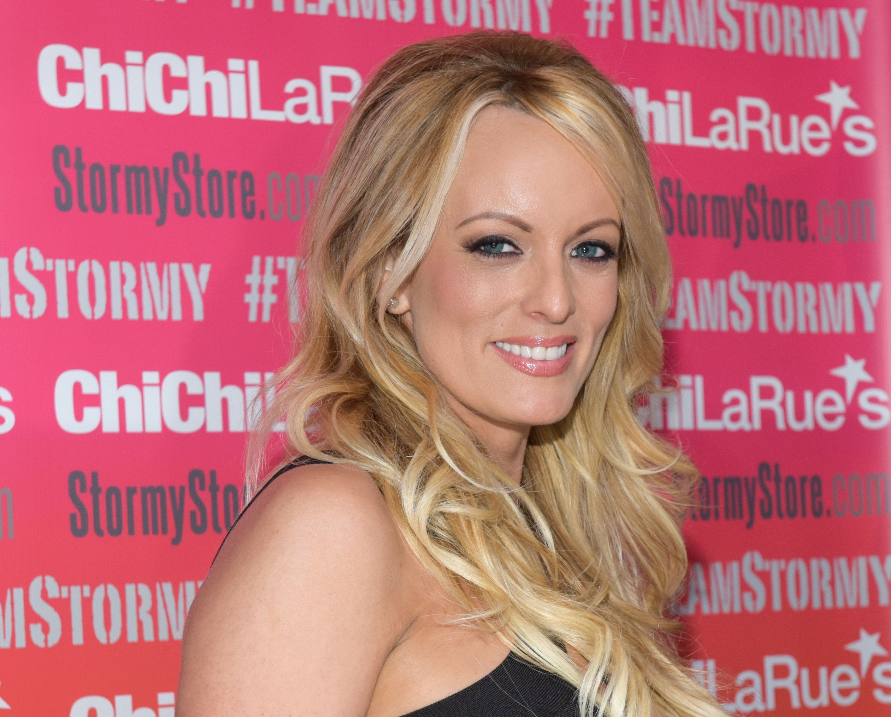 WEST HOLLYWOOD, CA - MAY 23:  Stormy Daniels attends a fan meet and greet at Chi Chi LaRue's on May 23, 2018 in West Hollywood, California.  (Photo by Tara Ziemba/Getty Images)