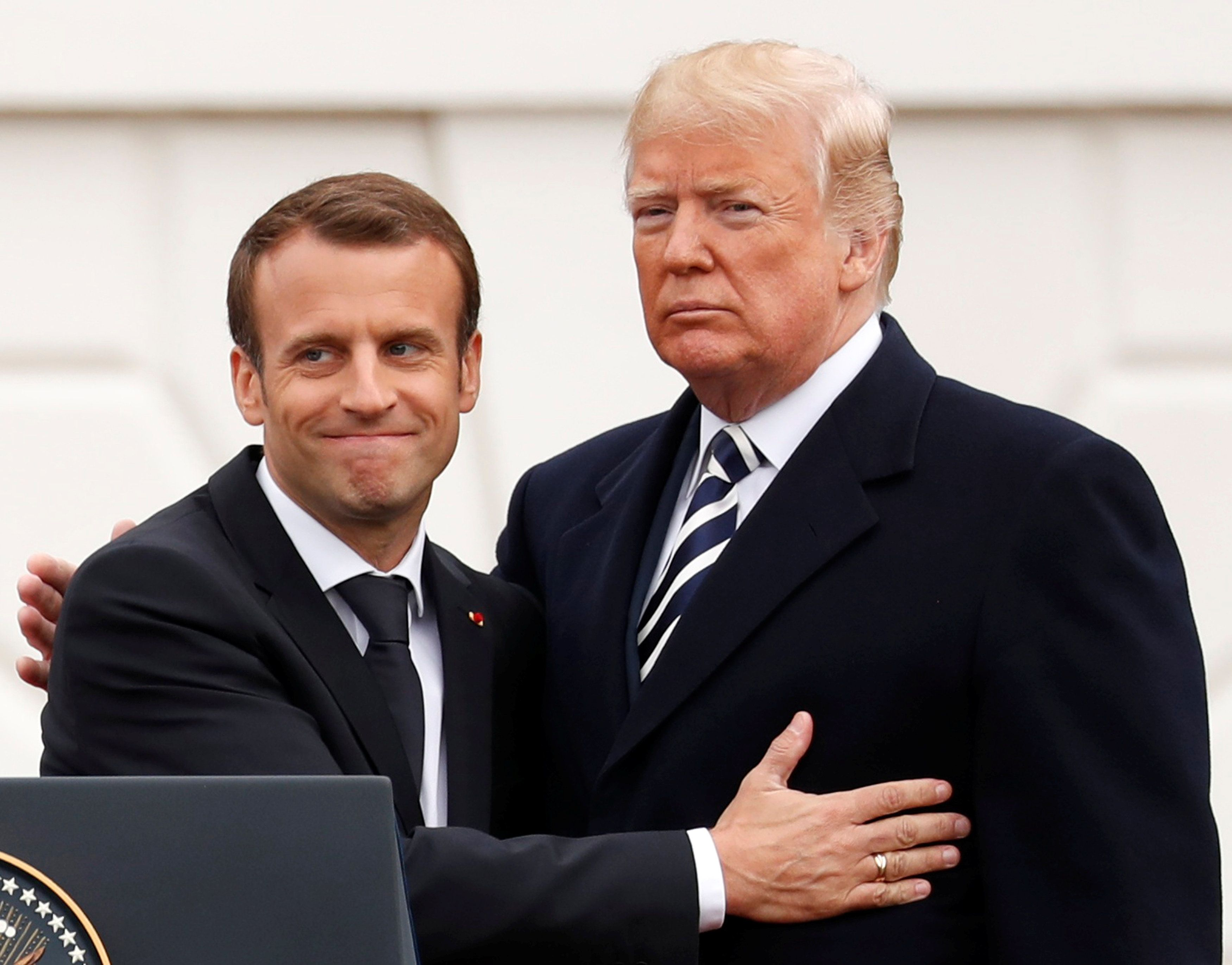France's Emmanuel Macron Throws Down Trump Twitter Gauntlet: G7 Can Be G6