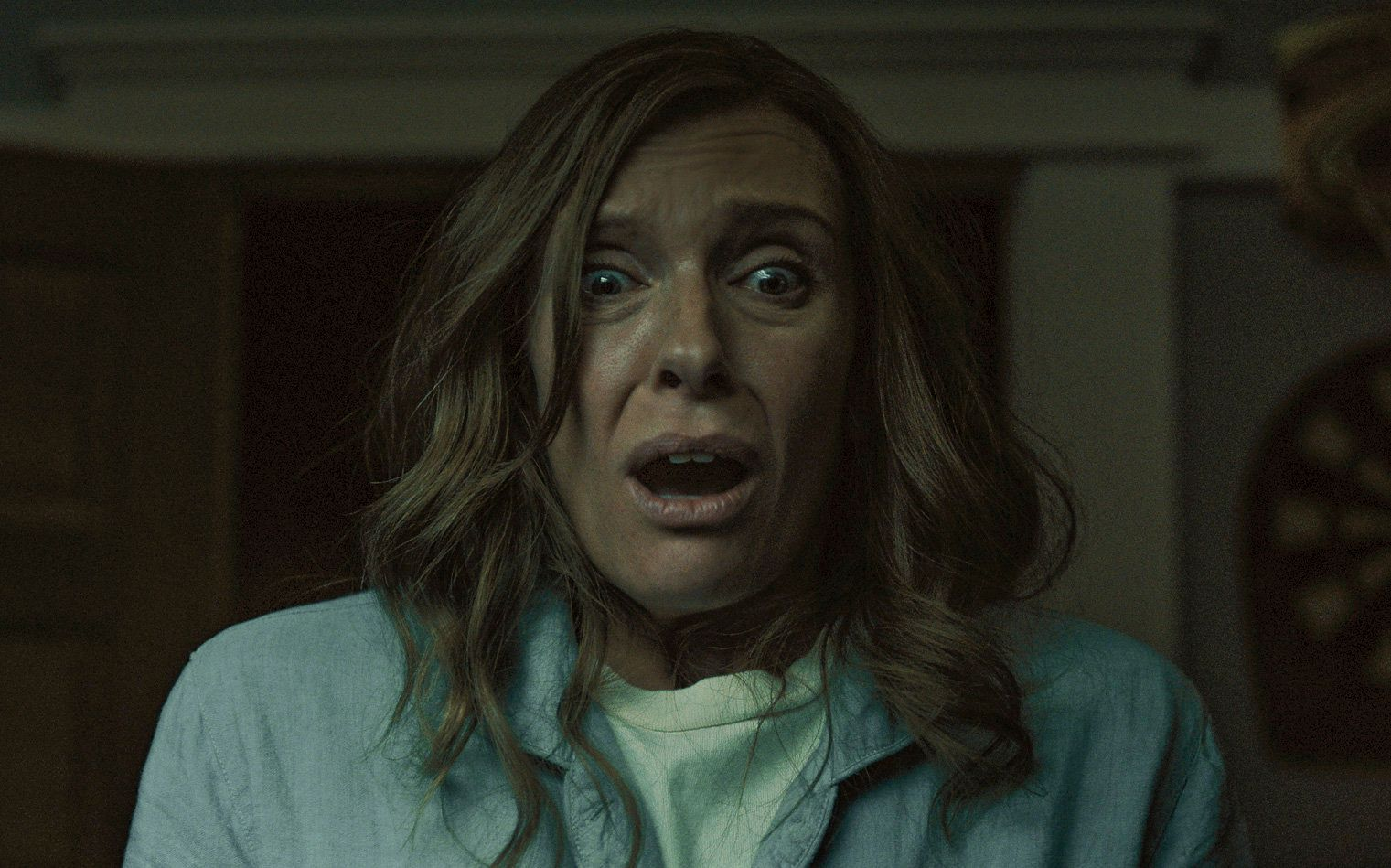 "In ""Hereditary,"" Toni Collette plays a diorama artist whose mother just died."