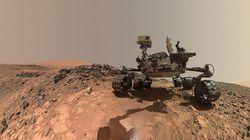 화성에서 농축 유기분자가