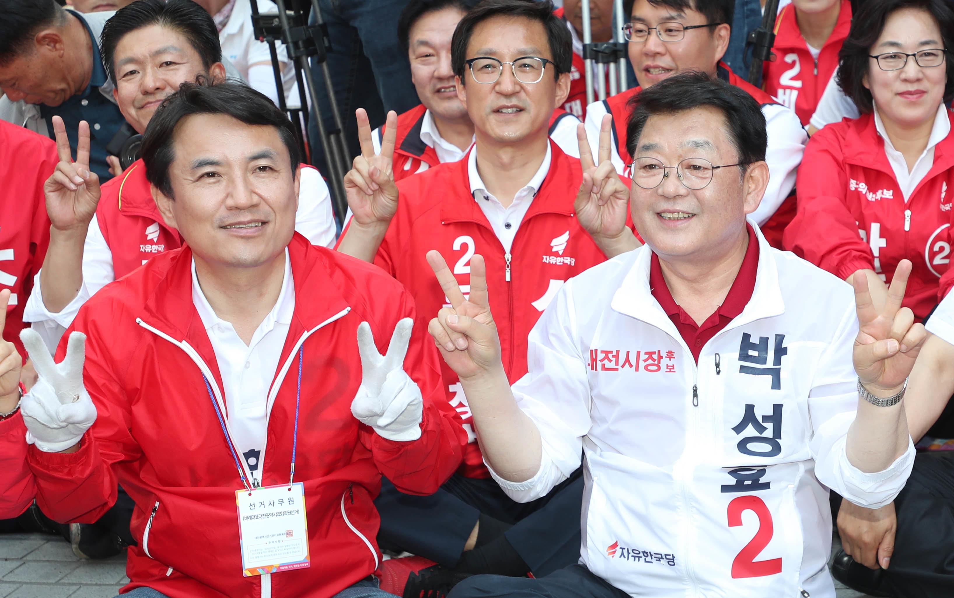 김진태는 여전히 박근혜 석방을 바라고