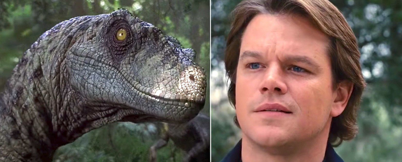 'We Bought A Jurassic Park' Is The Matt Damon-Dino Mashup You've Been Hoping