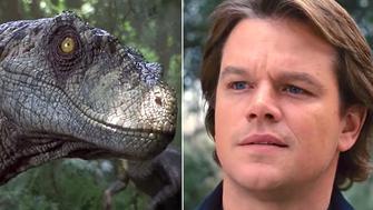 Jurassic World Matt Damon
