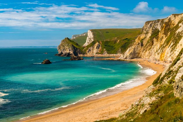 The Jurassic coastline, whichstretches along the coast between Orcombe Point in East Devon and...