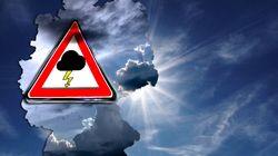 Gewitter und Starkregen: In diesen Regionen ist der Sommer erstmal