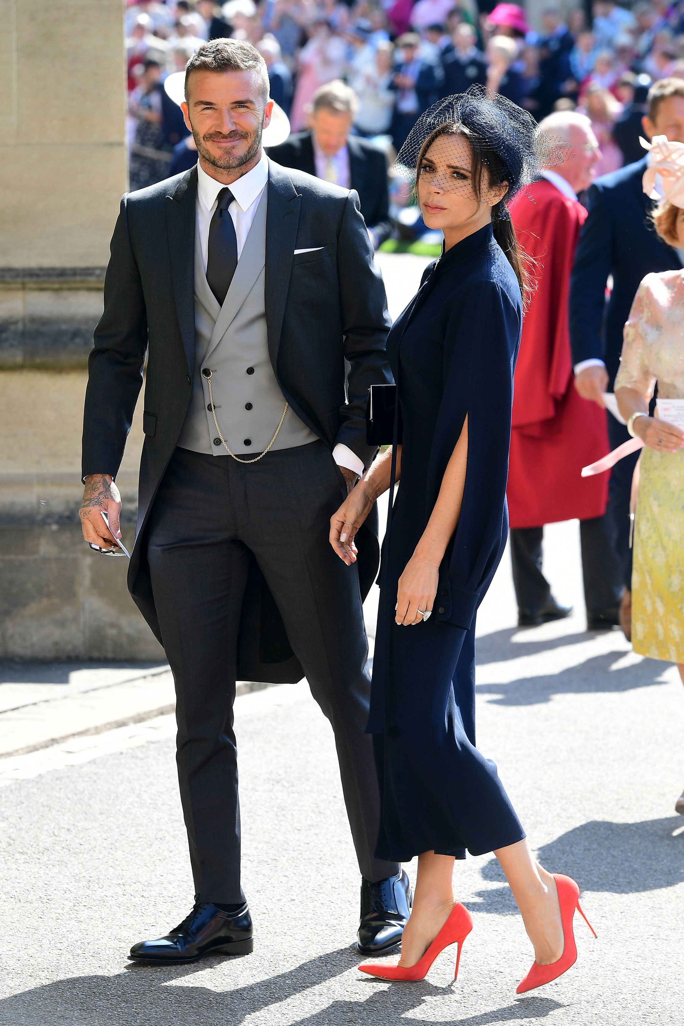 The Beckhams Are Selling Their Royal Wedding Outfits To Support Manchester Bombing